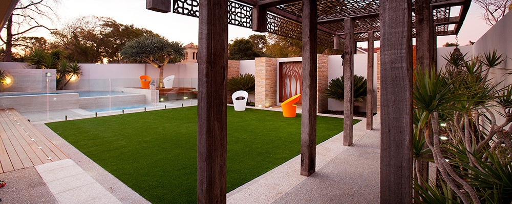 Applecross Perth property landscape design by Ritz Exterior Design