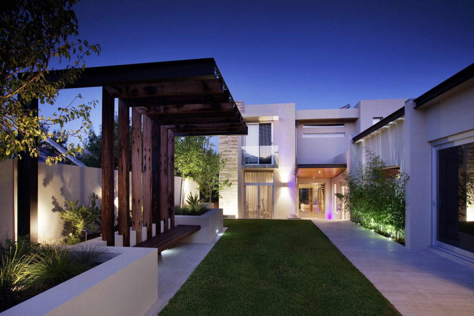 Bicton Perth property landscape design by Ritz Exterior Design