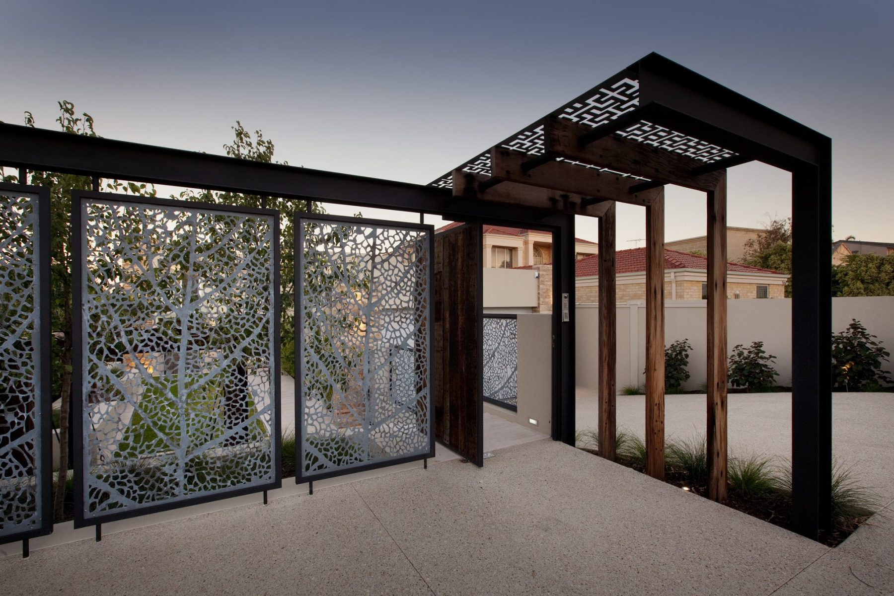 Bicton Perth property landscape design by Ritz Exterior Design