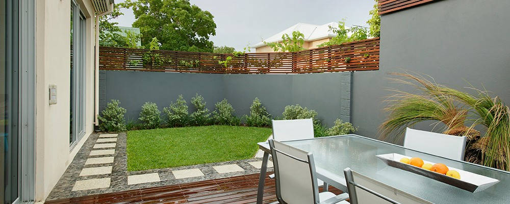 Cottesloe Perth property landscape design by Ritz Exterior Design