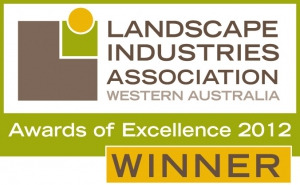 RED WINS LANDSCAPE INDUSTRY AWARDS OF EXCELLENCE 2012