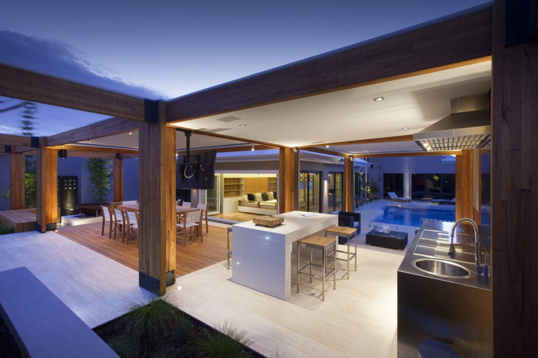 Perth property landscape design by Ritz Exterior Design