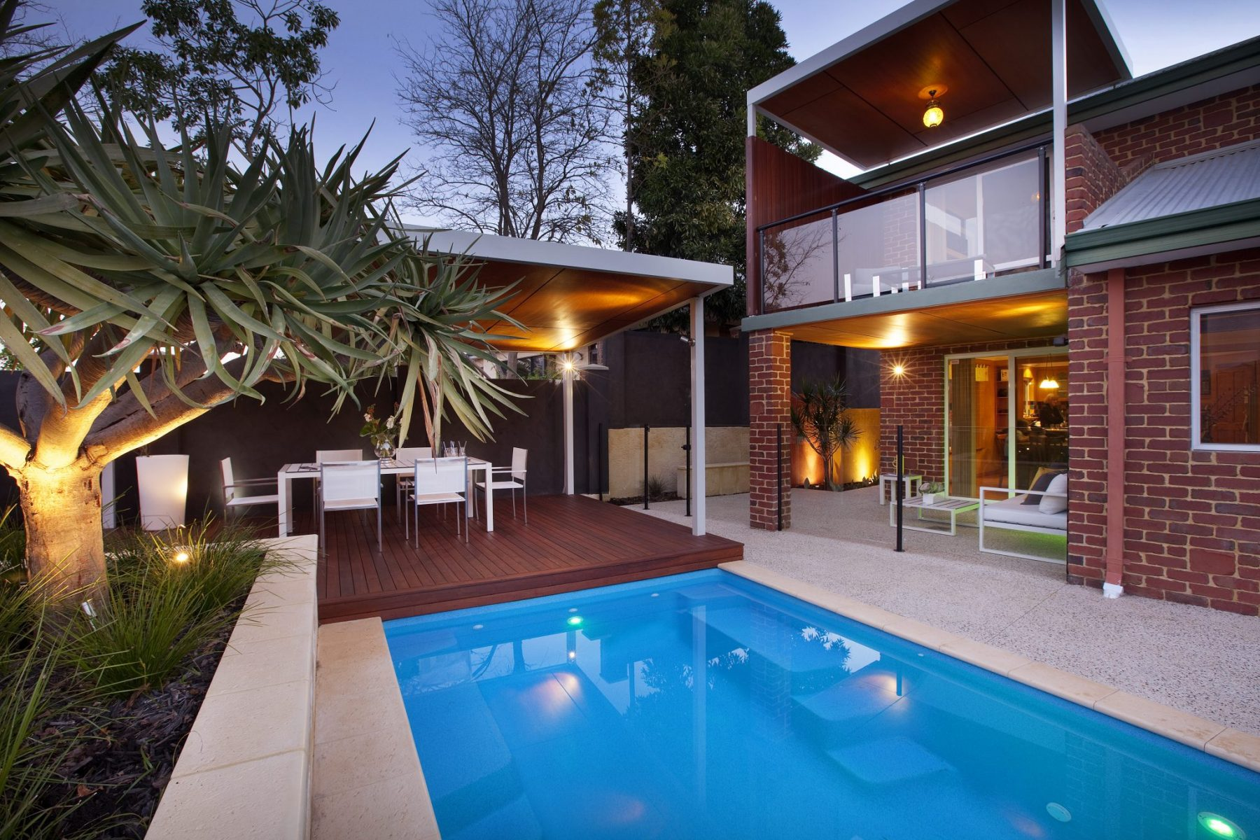Perth property landscape design by Ritz Exterior Design