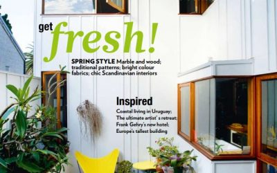 SCOOP MAGAZINE 'HOMES & ART' FEATURES RED